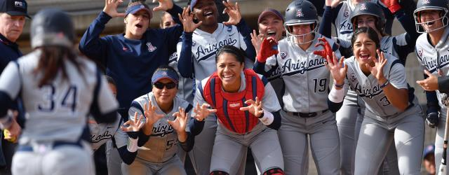 Power & pitching will take UA softball to 2017 WCWS