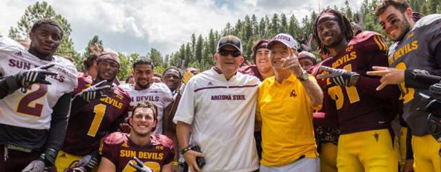 Camp Tontozona opens and thoughts turn to Coach Kush