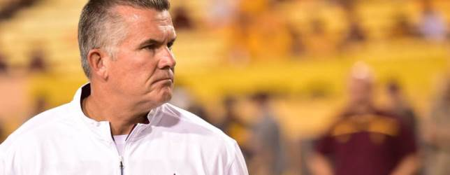 Speculation is over…Graham out as ASU football coach