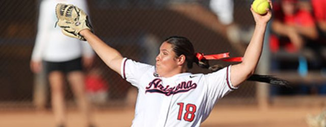 Can McQuillin's pitching take UA softball back to WCWS?