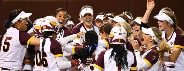ASU softball rebounding from 2017, beats #1 Washington