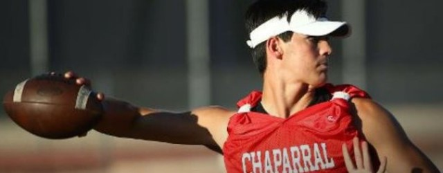 Chaparral's Jack Miller will be Ohio State's QB in 2020