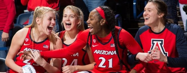They're for real…UA women get hoops upset of #17 ASU
