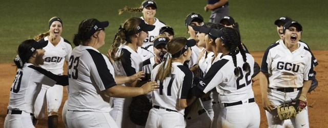 Unranked GCU softball takes down No.1 Florida State