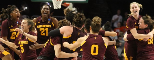 The 'curse' is broken…ASU women advance to Sweet 16