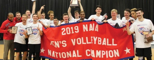 Local prep stars lead BenU to national volleyball title
