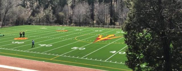 Let it rain…artificial turf ready for ASU football at Camp T