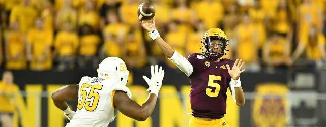 QB Daniels makes history leading ASU to win in opener