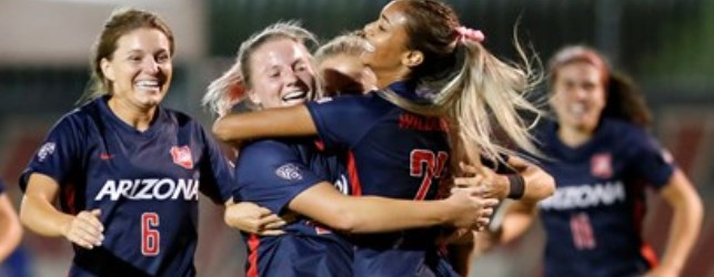 UA soccer climbing the hill: first #16 UCLA, now #5 USC