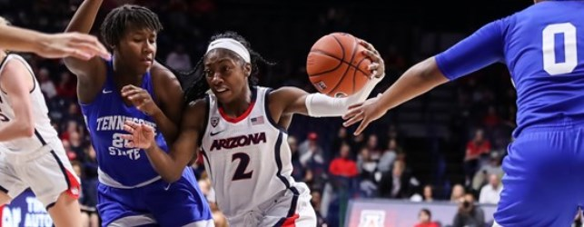 UA women's basketball 10-0, sets school & Pac-12 records