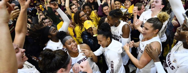 Hoops stunner! ASU women beat nation's No. 2 & No. 3