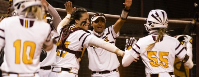 Red-hot ASU softball hits wall just before Pac-12 play