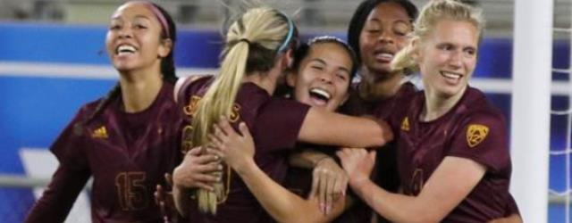 ASU soccer in nat'l spotlight after upset of No. 3 UCLA