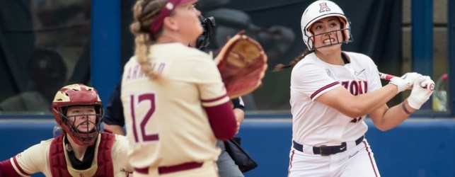 Two-and-out: UA softball eliminated from WCWS
