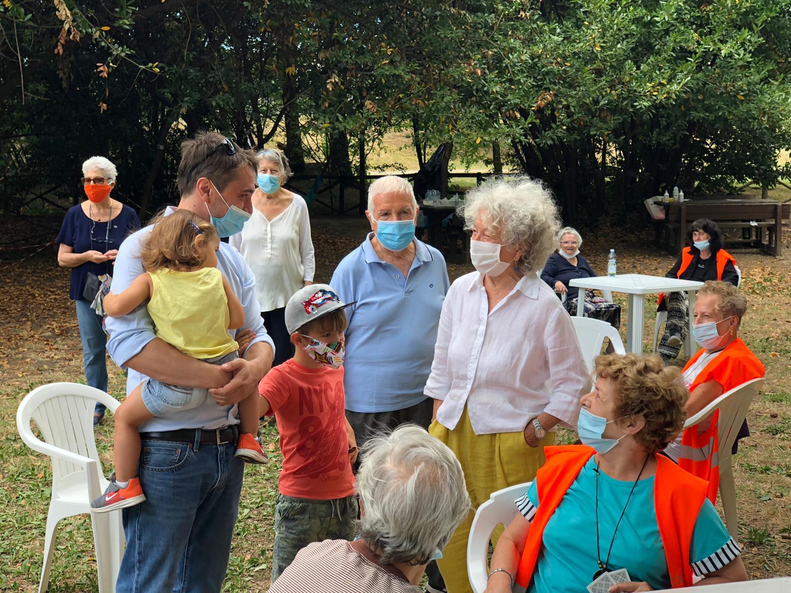 Il sindaco Falchi al Parco del Neto per incontrare gli ...