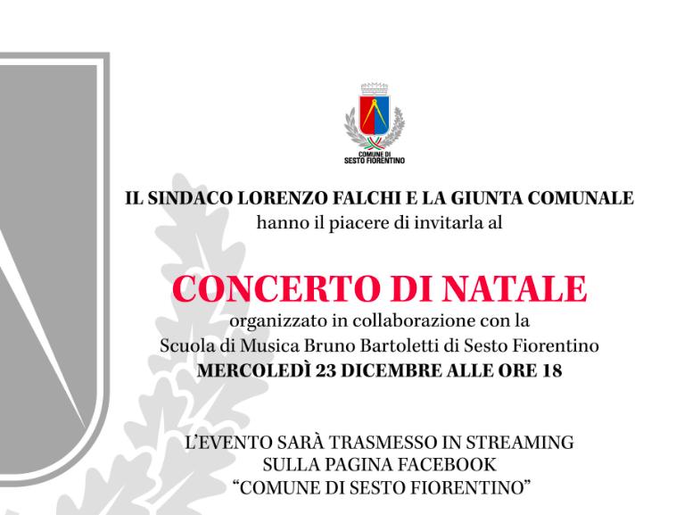Scambio Auguri Di Natale.Concerto Online Per Gli Auguri Di Natale Del Sindaco Falchi Piana Notizie