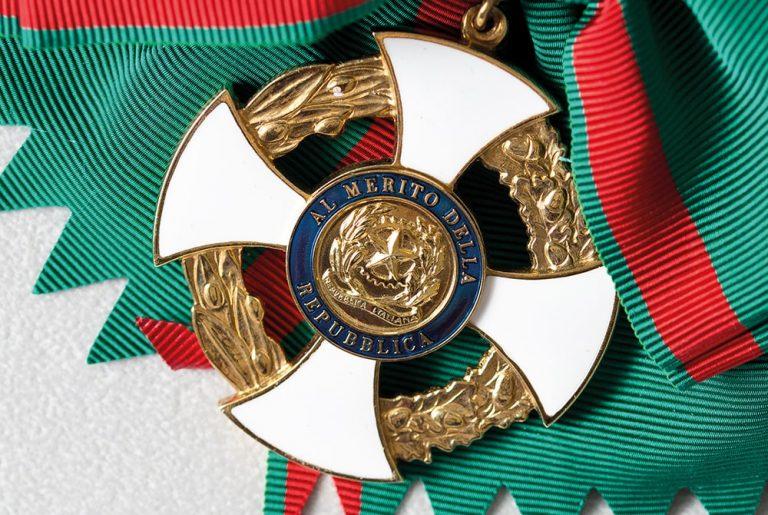 dettaglio onorificienza repubblica italiana