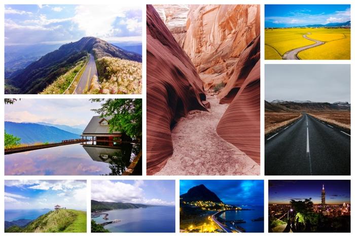 Sample photo collage