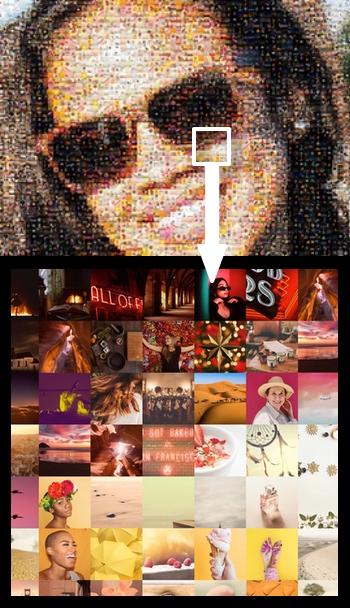 Make photo mosaic online