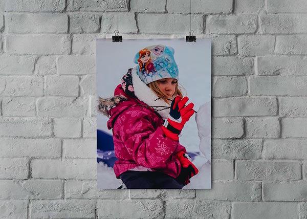 make a photo poster