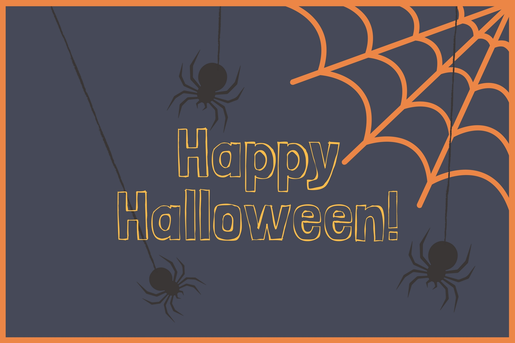 picture regarding Printable Halloween Card named No cost Halloween Card - The Correct Think about