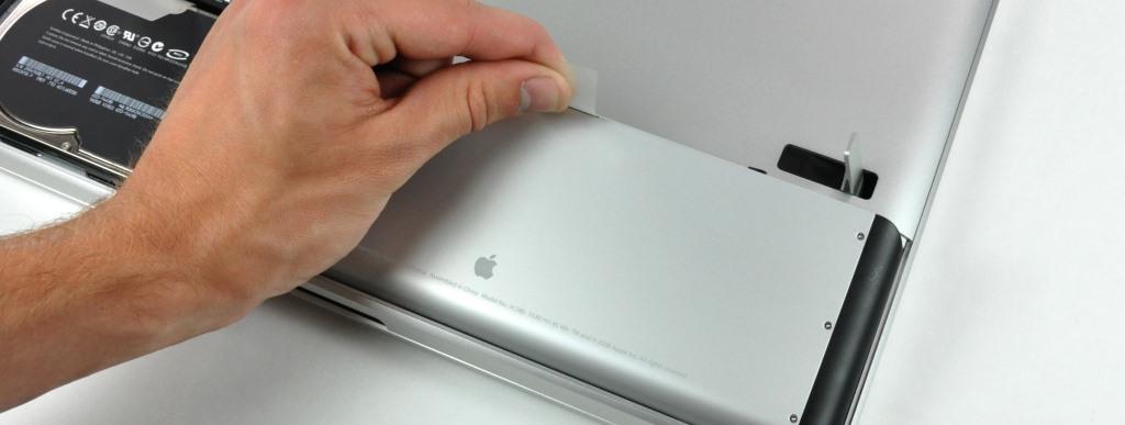 Замена аккумуляторной батареи в ноутбуке