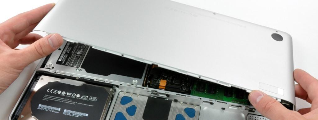 Замена корпусных деталей ноутбука