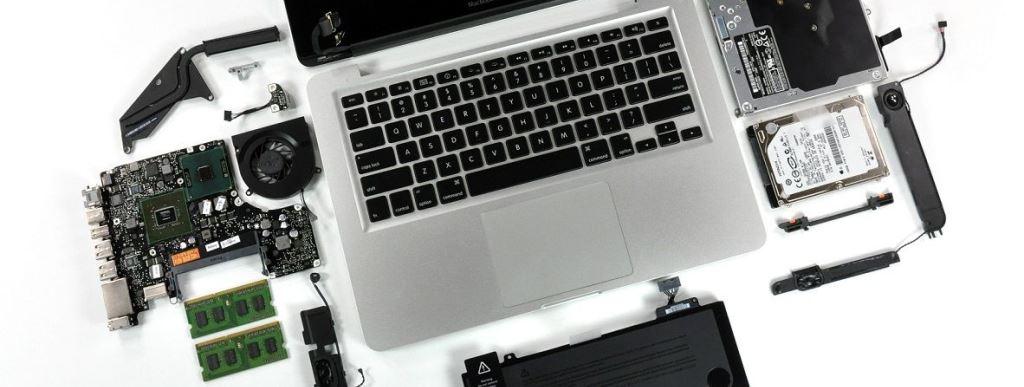 Замена составляющих деталей ноутбука