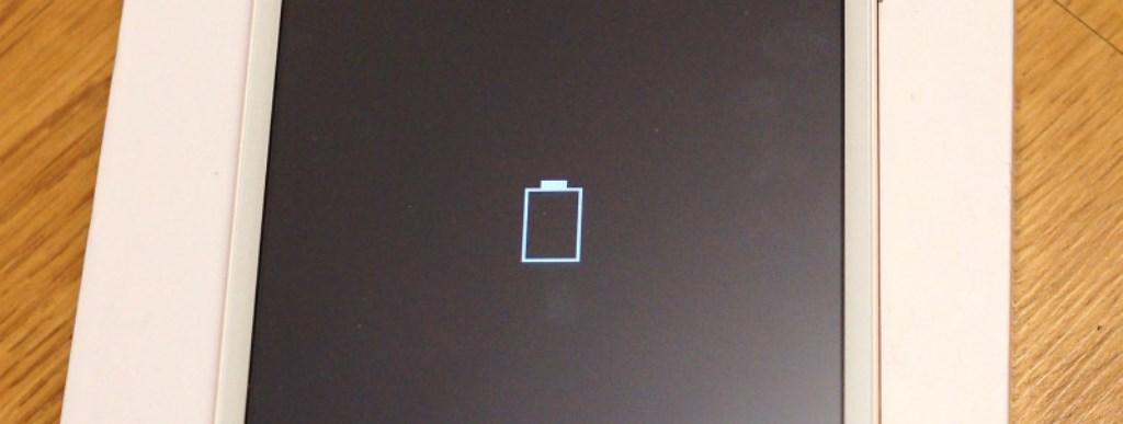 Быстро разряжается батарея в планшете