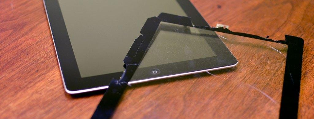 Замена дисплея, сенсора, стекла, экрана в планшете
