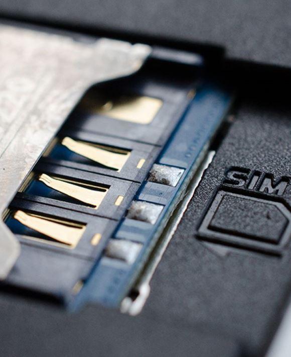 Замена sim коннектор телефона