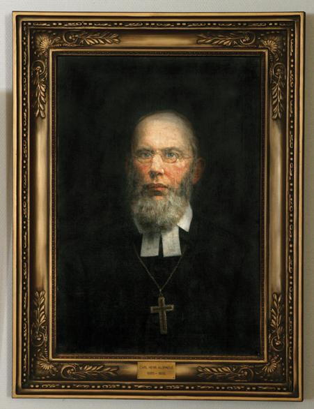 Carl Henrik Alopaeus, 1885 – 1892 (Fredrik Ahlstedt 1898)