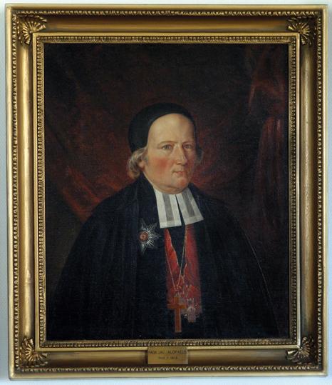 Magnus Jacob (Maunu) Alopaeus, 1809 – 1818 (taiteilija tuntematon)