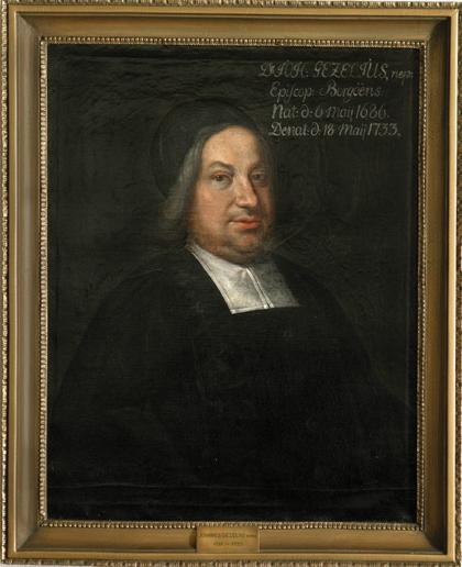 Johannes Gezelius, Nepos 1721 – 1733 (taiteilija tuntematon)