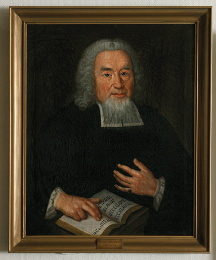 Daniel Juslenius, 1734 – 1744 (taiteilija tuntematon)