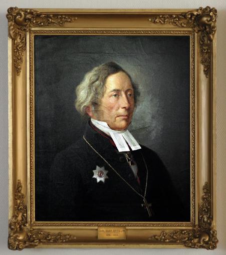 Kaarle Kustaa Ottelin, 1838 – 1864 (taiteilija tuntematon)