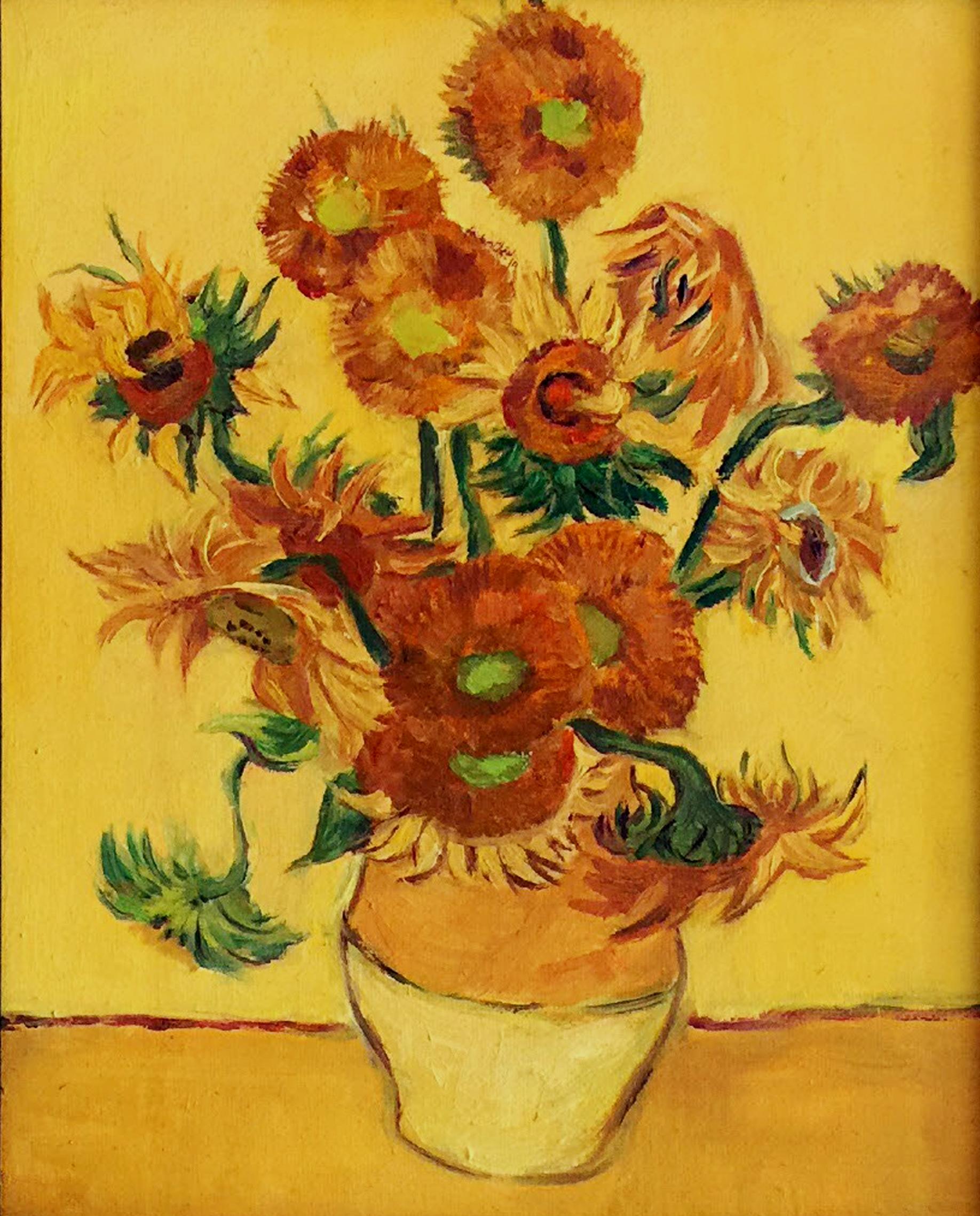 15 sunflowers