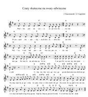Nuty do piosenki