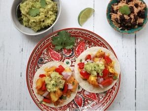 Caribbean Fish Tacos Trinidad Curry Piquant Post