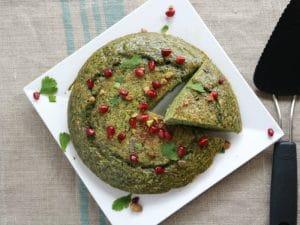 Persian Herb Frittata (Kuku Sabzi) Advieh Piquant Post