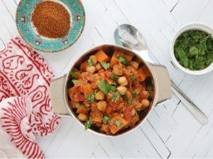 chana masala chickpea sweet potato stew