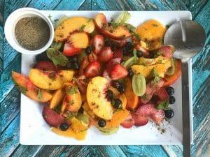 Fruit Chaat masala Indian fruit salad