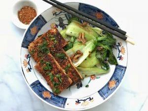 spicy tofu steaks