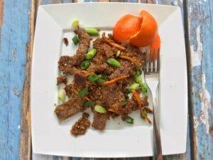 tangerine beef