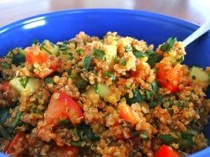 turkish quinoa salad kisir