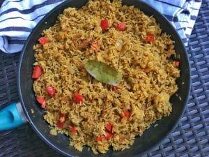 zanzibar pilau rice pilaf