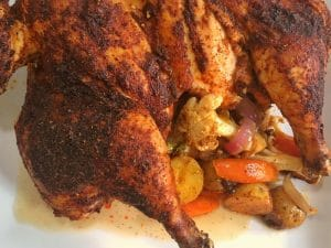 adobo whole-roasted chicken
