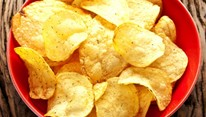 """""""batata frita"""" no micro-ondas sem óleo"""