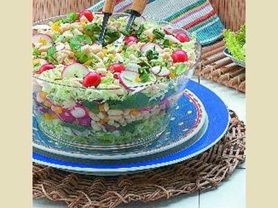 Salada de Feijão Branco.