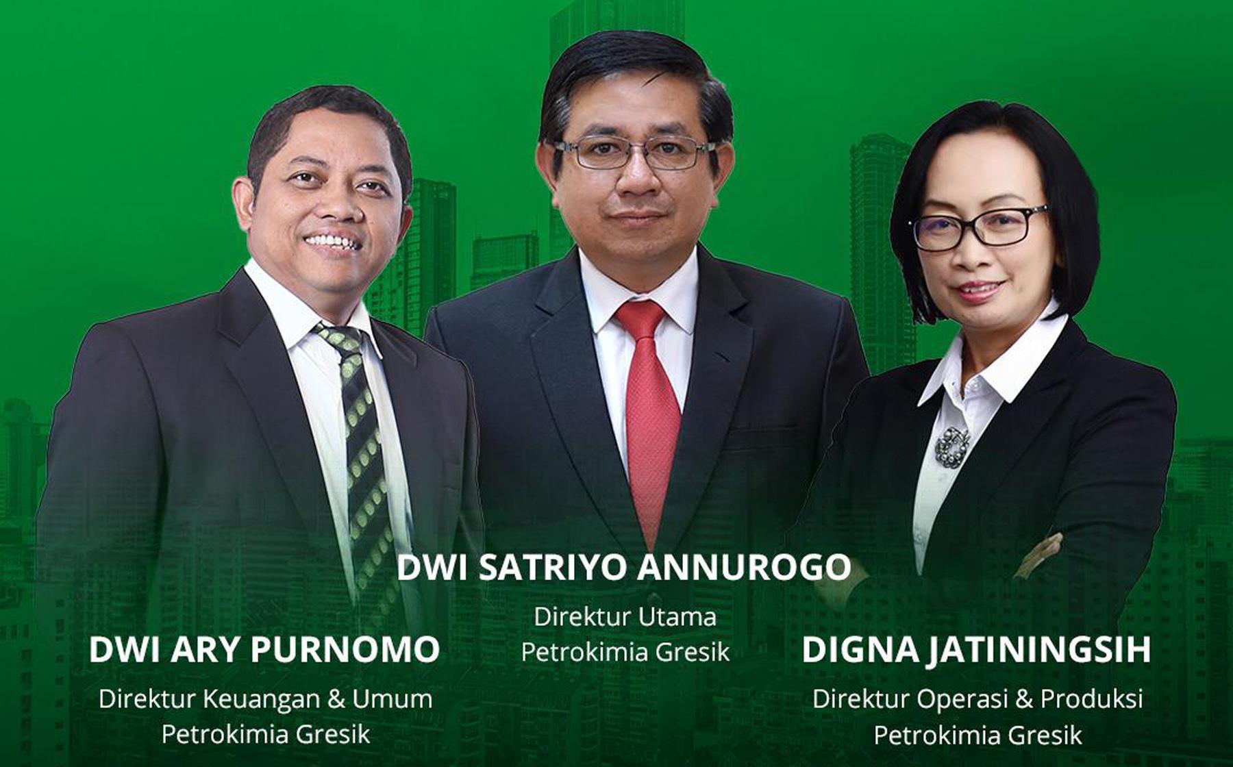 Direksi PT Petrokimia Gresik per 25 Agustus 2020.